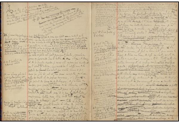 Marcel Proust — À LA RECHERCHE DU TEMPS PERDU : les manuscrits de la Madeleine